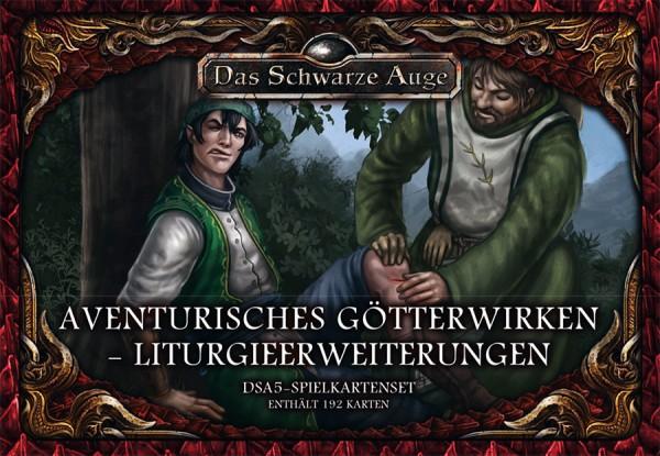 DSA5 Spielkartenset Avent Götterwirken Liturgieerweiterungen