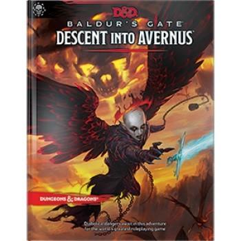 Baldur's Gate: Descent into Avernus Adventure Book (Eng)