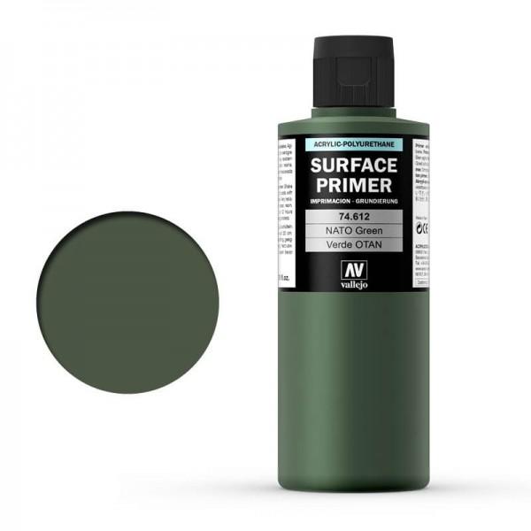 Vallejo Surface Primer Nato Green (200ml)