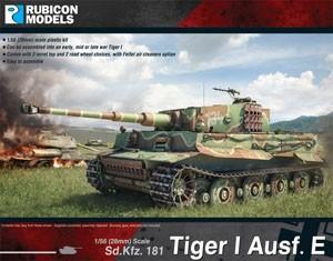Rubicon Models: Tiger I Ausf. E (1/56)