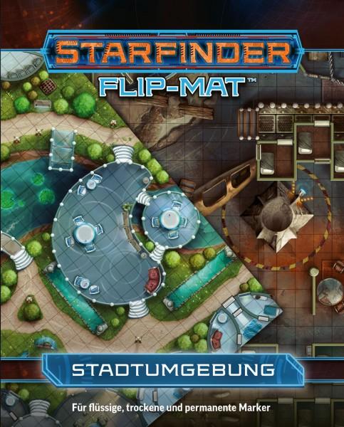 Starfinder Flip-Mat: Stadtumgebung