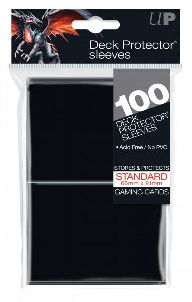 Standard Deck Protector Black Protector (100)