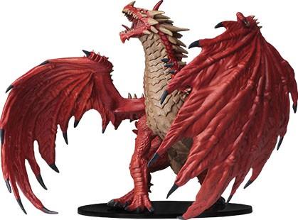 Pathfinder Deep Cuts Mini.: Gargantuan Red Dragon