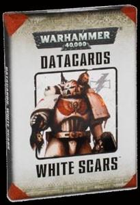 Warhammer 40k Space Marines: Space Marine White Scars Datakarten (deutsch)