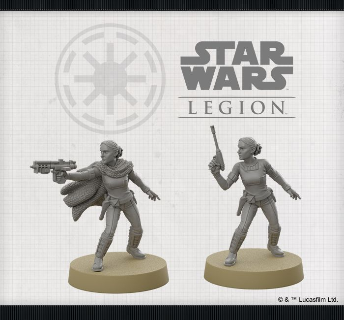 "/""Padme Amidala • DE/"" FFGD4660 Star Wars Legion Clone Wars"