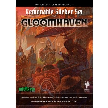 Gloomhaven Removable Sticker Set (engl.)