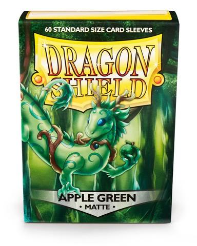 Dragon Shield Matte- Apple Green (60 Stück)