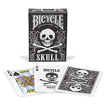 Poker: Bicycle Playing Cards Skull (Poker)