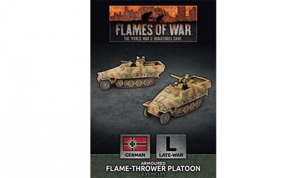 Flames of War GE: Flame-Thrower Platoon (x2)