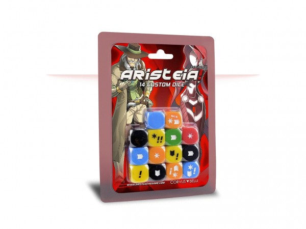 Infinity: Aristeia! Dice Pack