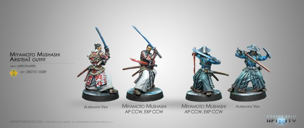 Miyamoto Musashi Aristeia! Outfit