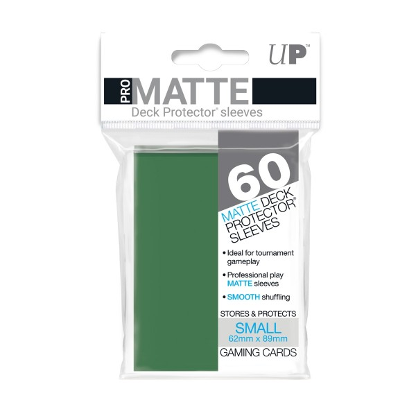 Small Deck Protector Pro-Matte Green 62x89mm (60)