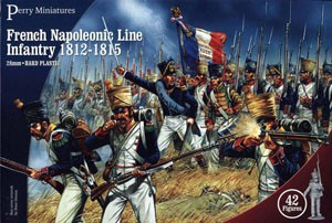 Perry Miniatures: French Napoleonic Line Infantry 1812-1815