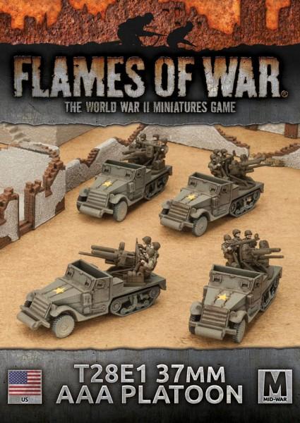 Flames of War US: T28E1 37mm AAA Platoon (x4)