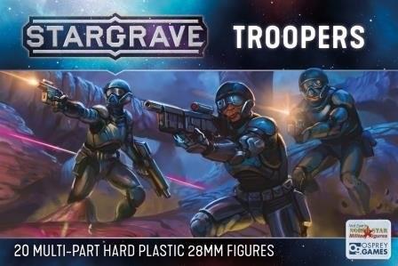 Troopers (x20 Plastik)