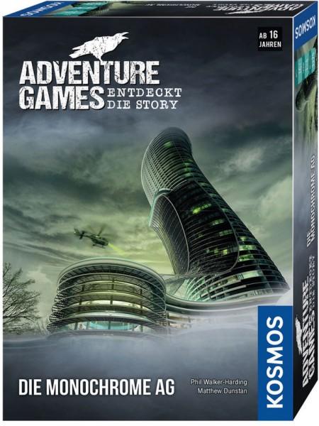 Adventure Games: Die Monochrome AG