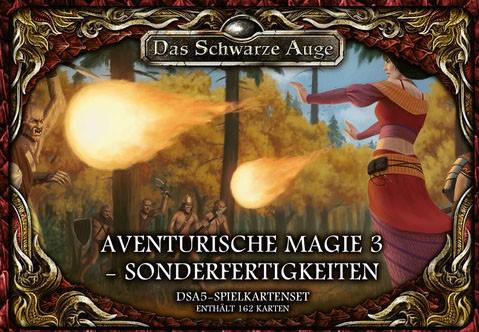 DSA5 Spielkartenset Aventurische Magie 3 - Sonderfertigkeite