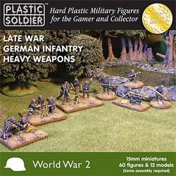 Plastic Soldier 15mm Late War German Heavy Weapons (für FoW)