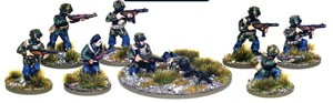 Bolt Action: Italian Airborne Section (10)