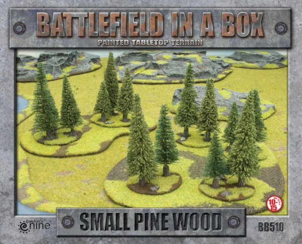 Small Pine Wood - 15mm