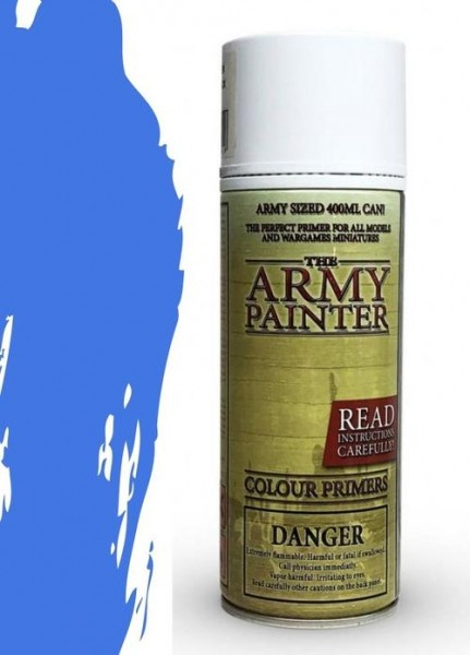 The Army Painter: Color Primer, Crystal Blue 400 ml