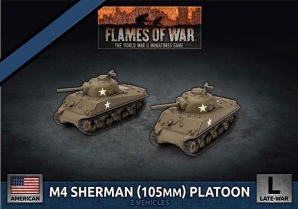 Flames of War US: M4 Sherman - Assault Gun Plattoon (2x)