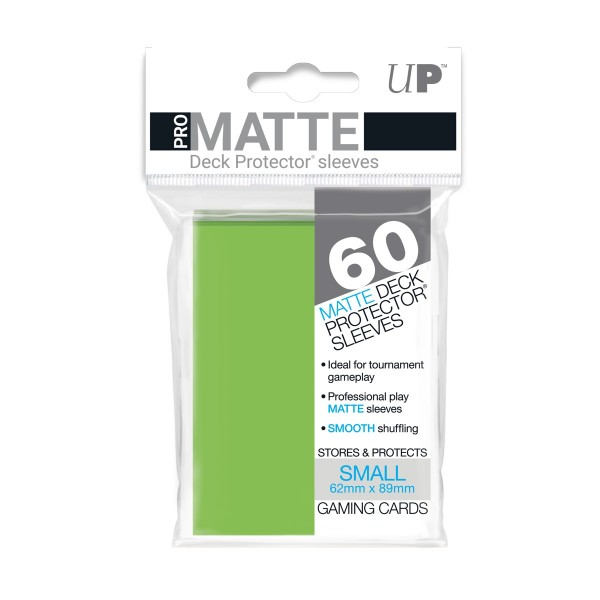 Small Deck Protector Pro-Matte Lime Green 62x89mm (60)