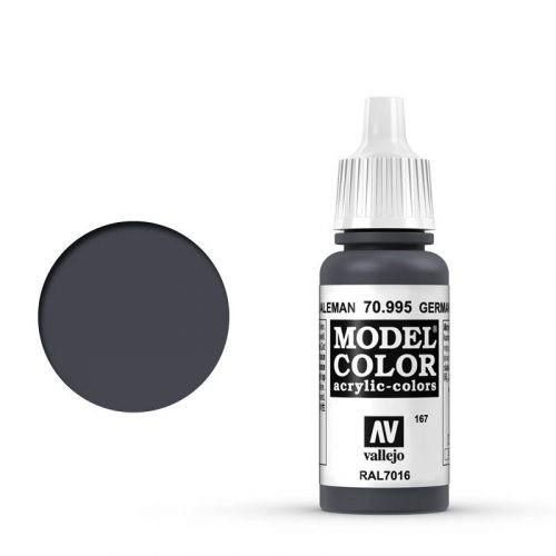 Vallejo Model Color: 167 Anthrazitgrau (German Grey), 17 ml (995)