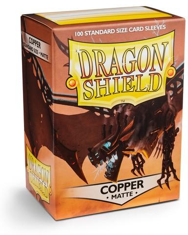 Dragon Shield Matte - Copper (100 Stück)