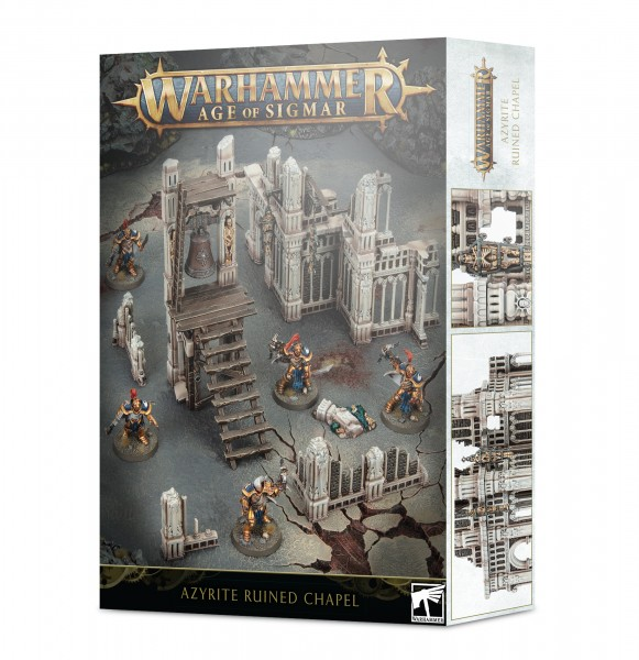 Warhammer Age of Sigmar Azyrite Ruined Chapel