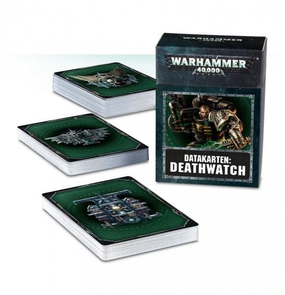 Warhammer 40k Space Marines: Deathwatch Datakarten (alt) (dt.)