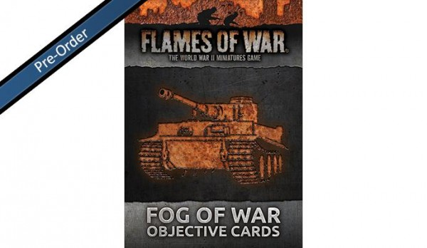 Flames of War: Fog of War Objective Cards (30 Cards)