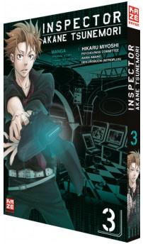 Inspector Akane Tsunemori (Psycho-Pass) Band 03