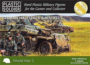 Plastic Soldier 15mm German SdKfz 251 Ausf. C (für FoW)