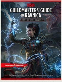 Guildmaster's Guide to Ravnica Maps