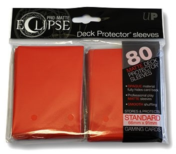 Ultra Pro Standard Sleeves Eclipse Rot (80)
