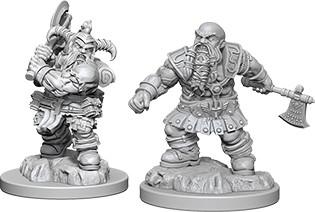 Male Dwarf Barbarian