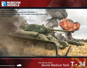 Rubicon Models: Soviet T-34/76 (1/56)