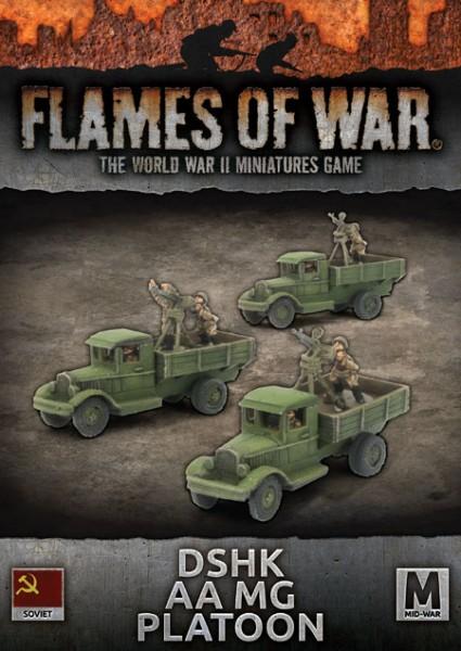 Flames of War SU: DSHK AA MG Platoon (x3)