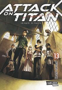 Attack on Titan Band 13