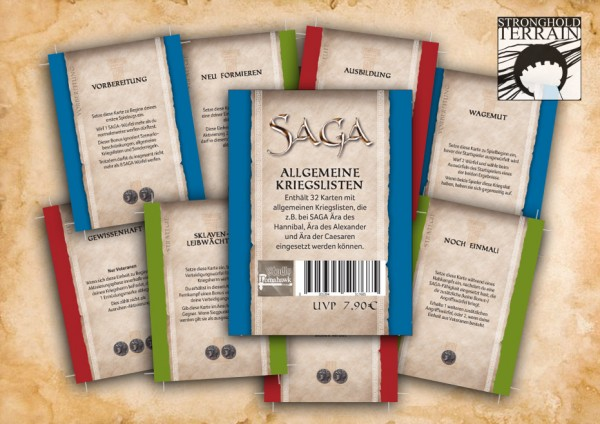 SAGA generische Kriegslisten 2. Edition (DE)