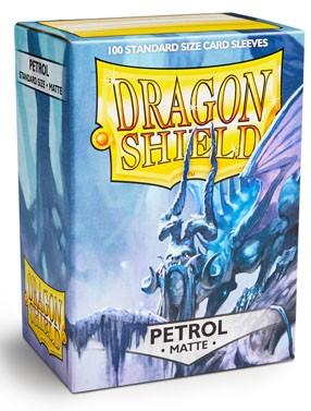 Dragon Shield Matte: Petrol (100 Stück)