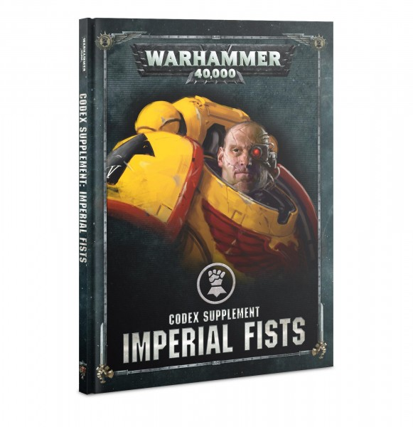 Warhammer 40k Space Marines: Space Marine Imperial Fists Codex (englisch)