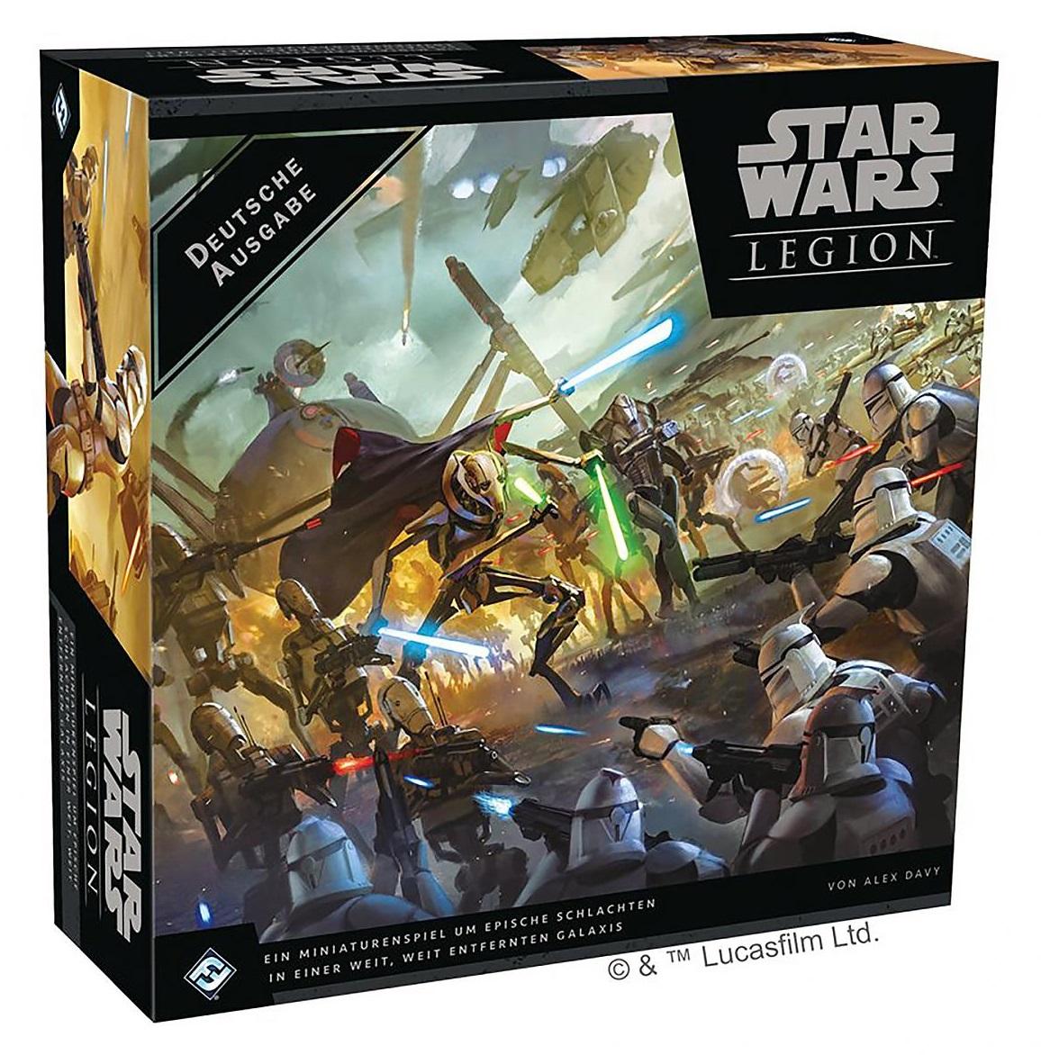 Star Wars Legion - Clone Wars Grundspiel (DE)