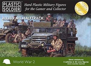Plastic Soldier 15mm WW2 Allied M3 Halftrack