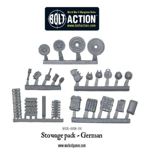 Bolt Action: German Stowage Pack