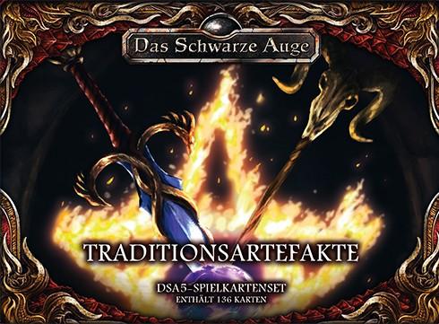 DSA5 Spielkartenset Aventurische Magie Traditionsartefakte