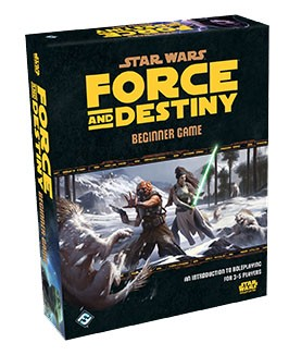 StarWars RPG: Star Wars Roleplay: Force and Destiny Beginner Game