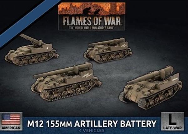 Flames of War US: 155mm Artillery Battery (4x)