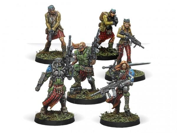 Caledonian Highlander Army (Ariadna Sectorial Star